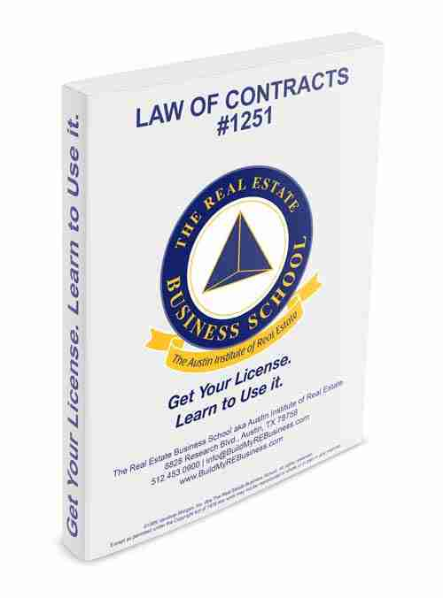 law of contracts book