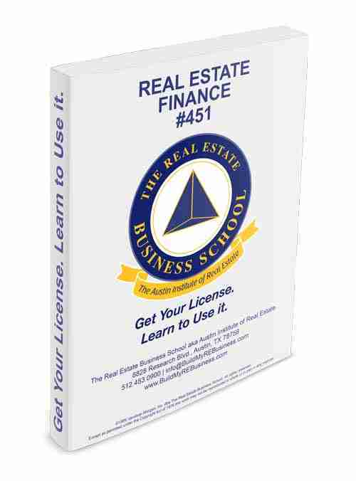 real estate finance book