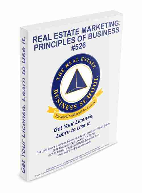 real estate marketing principles of business book