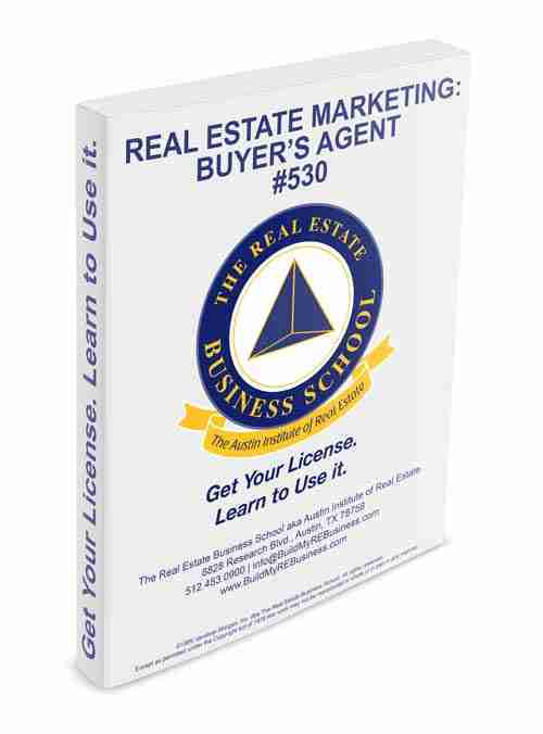 real estate marketing buyers agent book