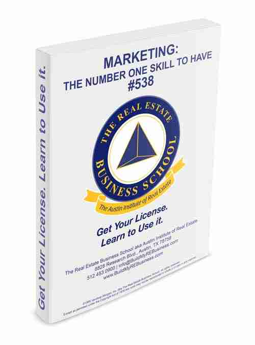 marketing the number one skill to have book