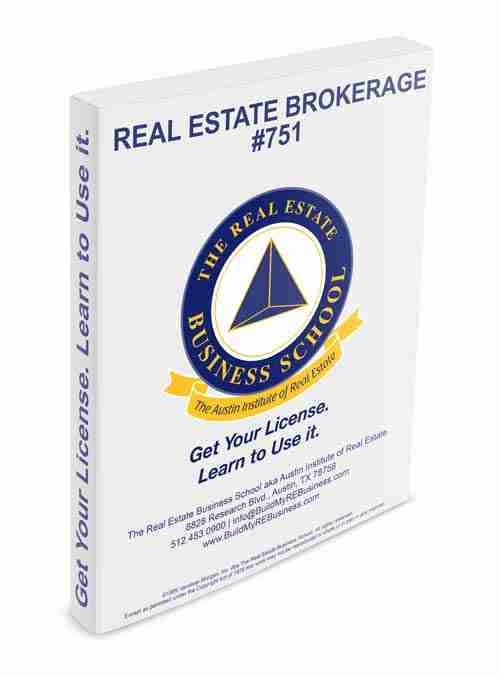 real estate brokerage book
